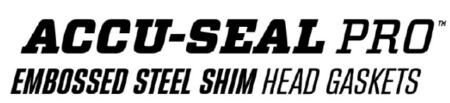 Accu-Seal Pro Embossed Steel Shim Head Gaskets